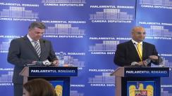 Conferință de presă comună între Președintele Camerei Deputaților, Valeriu Zgonea și Președintele Comisiei pentru Afaceri Interne din Camera Comunelor a Regatului Unit al Marii Britanii și al Irlandei, Keith Vaz