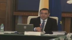 Ședința Guvernului României din 21 mai 2013 (imagini protocolare)