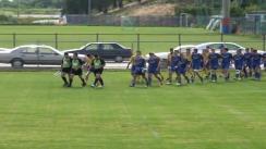 Meciul de Rugby între CSS Tecuci - ACS Flamingo. Turneul U17