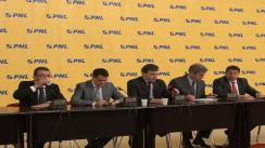 Conferință de presă susținută de președintele PNL, Crin Antonescu după ședința Delegației Permanente al Partidului Național Liberal