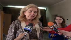 Declarațiile de presă al d-nei Camelia Gavrilă, Șeful Inspectoratului Școlar Județean Iași