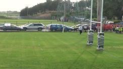 Meciul de Rugby între CSS Tecuci – CFR Constanta. Campionatul U17