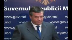 Declarațiile lui Alexandru Oleinic după Ședința Guvernului din 8 septembrie 2010
