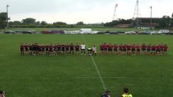 Meciul de Rugby între CFR Constanța – ACS Flamingo. Campionatul U17