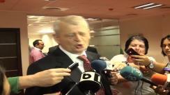 Declarație de presă susținută de Primarul General al municipiului Bucureștii, Sorin Oprescu