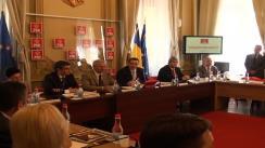 Imagini de la începutul ședinței BPN a Partidului Social Democrat din 3 iunie 2013