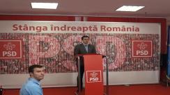 Conferință de presă susținută purtătorul de cuvânt al PSD, Cătălin Ivan, după ședința Biroului Permanent al PSD din 3 iunie 2013
