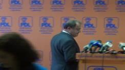 Conferință de presă după ședința Biroului Politic Național al PDL din 3 iunie 2013