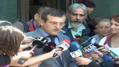 Declarații de presă susținute de Cristian Preda după ședința BPN al PDL din 3 iunie 2013