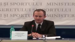 Conferință de presă cu privire la politicile de tineret din România