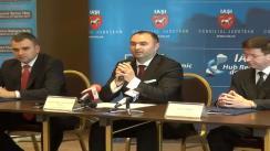 Semnarea contractului privind realizarea primei etape a proiectului de dezvoltare și modernizare a Aeroportului Internațional Iași