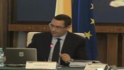 Ședința Guvernului României din 4 iunie 2013 (imagini protocolare)
