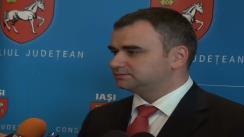 Declarațiile de presă al dl. Marius Boldea, directorul Aeroportului Internațional Iași