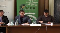 """Conferință cu tema """"Totul despre admiterea la INM"""" cu participarea Judecătorului membru CSM, Cristi Dănileț"""