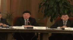 Imagini de la ședința comisiei de revizuire a Constituției