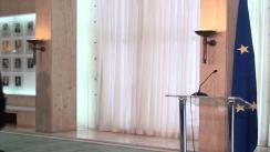 Declarație de presă susținută de prim-ministrul României, Victor Ponta