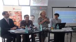 """Conferință de presă organizată de Salvați Copiii România cu ocazia lansării campaniei de comunicare """"Siguranța pe internet"""""""