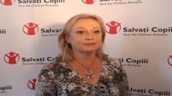 Declarație de presă susținută de Președintele Executiv al Salvați Copiii, Gabriela Alexandrescu