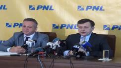 Conferință de presă susținută de Președintele PNL, Crin Antonescu și vicepreședintele PNL Relu Fenechiu