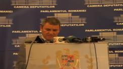 Declarații de presă susținută de Niculae Mircovici, secretar în Biroul Permanent al Camerei Deputaților