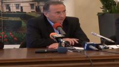 Conferință de presă susținută de Primarul Municipiului Iași, dl. Gheorghe Nichita