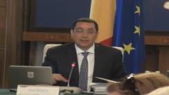 Ședința Guvernului României din 10 iulie 2013 (imagini protocolare)