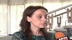 """Declarațiile de presă al d-nei Laura Păstrăvanu, managerul proiectului """"Reabilitarea, modernizarea și dotarea școlilor speciale din Jud. Iași"""""""