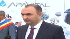 Declarațiile de presă al dl. Cristian Adomniței, Președintele Consiliului Județean Iași, la Bârnova