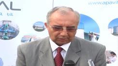 Declarațiile de presă al dl. Ion Toma, directorul ApaVital Iași