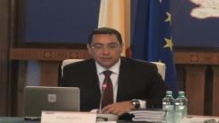 Ședința Guvernului României din 17 iulie 2013 (imagini protocolare)