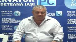 Conferință de presă susținută de Partidul Conservator, filiala Iași