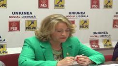 Conferință de presă susținută de deputatul PSD, Cristina Nichita, la Iași