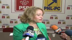 Declarațiile de presă al deputatului PSD, Cristina Nichita