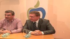 Conferință de presă susținută de președintele interimar al Partidului Mișcarea Populară, Eugen Tomac, la Iași