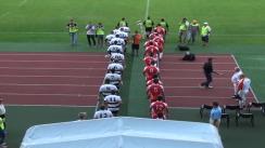 Meciul de Rugby între U Cluj vs Dinamo București. Etapa XVIII SuperLiga CEC Bank