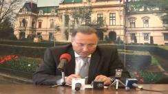 Conferință de presă susținută de Gheorghe Nichita, primarul municipiului Iași