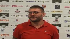 Declarații după meciul de rugby între U Cluj vs Dinamo București. Etapa XVIII SuperLiga CEC Bank