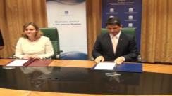 Semnarea de către miniștrii Afacerilor Externe ai Republicii Moldova și România a acordului cu privire la cadrul general și condițiile pentru cooperare în domeniul dezvoltării