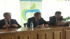 Conferința de presă susținută de filiala Iași a Partidului Mișcarea Populară
