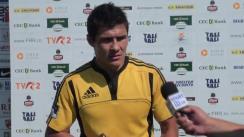 Declarații după meciul de Rugby între Dinamo - CSM București Olimpia. Etapa IX SuperLiga CEC Bank