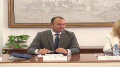 """Semnarea contractului privind serviciile de asistență tehnică de management pentru acordarea de sprijin în gestionarea și implementarea proiectului """"SMID"""""""