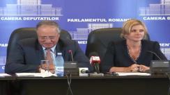 Conferință de presă susținută de deputații Claudia Boghicevici și Mircea Toader privind câinii fără stăpân