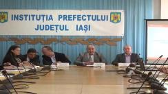 Întâlnire din programul de sprijinire a autorităților locale în contextul autonomiei locale la Prefectura Iași