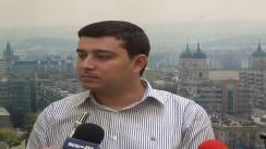 Declarațiile lui Sebastian Buraga, purtătorul de cuvânt al Primăriei Municipiului Iași