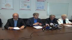 Briefing susținut de ministrul Sănătății, Eugen Nicolăescu, privind concluziile discuțiilor purtate cu reprezentanții Coaliției Profesioniștilor din Sistemul de Sănătate