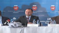 """Semnarea contractului de finanțare a Proiectului de reabilitare a Ambulatoriului Integrat al Spitalului Clinic de Urgență (Neurochirurgie) """"Prof. Dr. N. Oblu"""" Iași"""