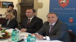 Semnarea contractului de finanțare peru cea de-a doua etapă a Proiectului de reabilitare a Mănăstirii Golia, Iași