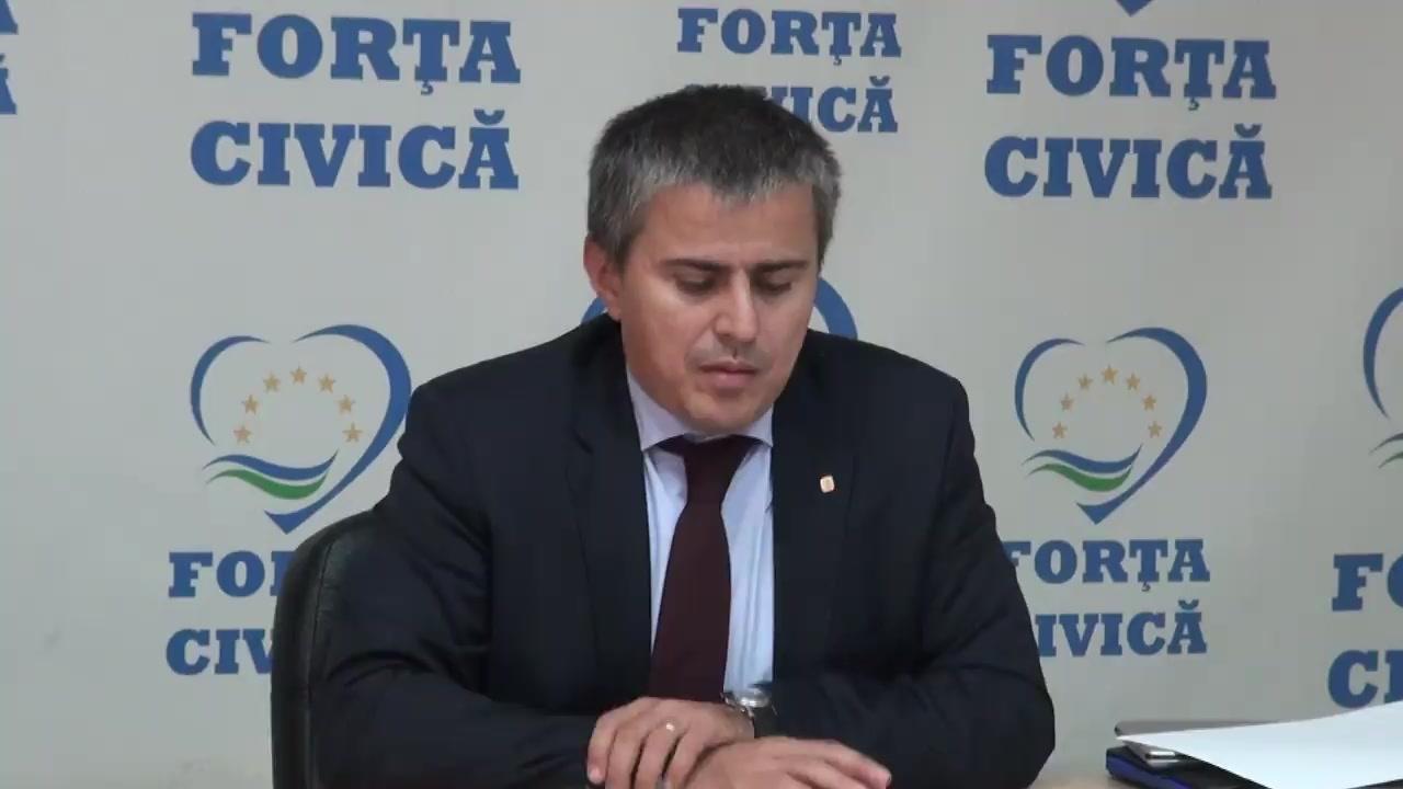Conferință de presă susținută de Partidul Forța Civică privind impozitul forfetar