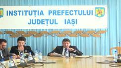 Întâlnire de lucru a Comisiei pentru Construcții din cadrul Consiliului de Dezvoltare Economică și Socială a județului Iași