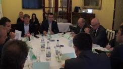 """Dezbatere organizată de Fundația Universitară a Mării Negre cu tema """"Percepții și realități în relațiile româno-maghiare"""""""